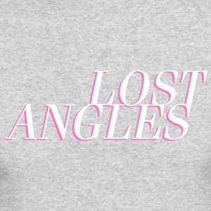Lost Angles Vaporwave Label - Men's Long Sleeve T-Shirt by Next Level