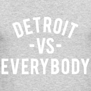 Detroit VS Everybody - Men's Long Sleeve T-Shirt by Next Level
