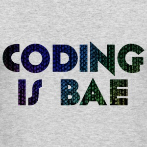 coding is bae - Men's Long Sleeve T-Shirt by Next Level