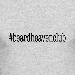 Hashtag Beard Heaven Club - Men's Long Sleeve T-Shirt by Next Level
