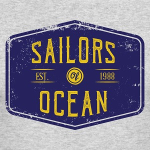 Sailors of ocean - Men's Long Sleeve T-Shirt by Next Level