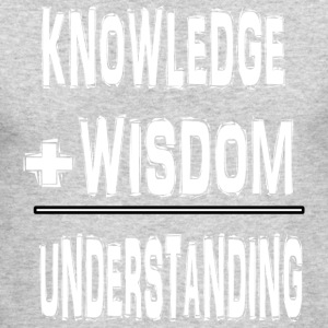 KNOWLEDGE WISDOM UNDERSTANDING 2 - Men's Long Sleeve T-Shirt by Next Level