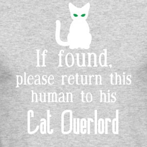 Cat Overlord - Men's Long Sleeve T-Shirt by Next Level
