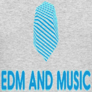 EDM and MUSIC - Men's Long Sleeve T-Shirt by Next Level