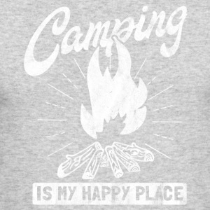 Gift for a happy camping Person - Men's Long Sleeve T-Shirt by Next Level