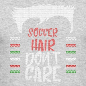 Ugly sweater christmas gift for soccer - Men's Long Sleeve T-Shirt by Next Level
