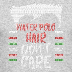 Ugly sweater christmas gift for Water polo - Men's Long Sleeve T-Shirt by Next Level