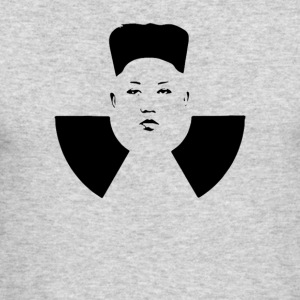 Atomic Kim Jong Un. Stop this dangerous madman! - Men's Long Sleeve T-Shirt by Next Level