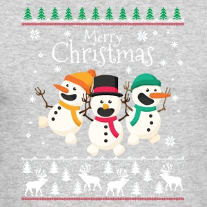 Merry Little Christmas - Men's Long Sleeve T-Shirt by Next Level