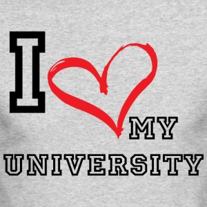 I_LOVE_MY_UNIVERSITY - Men's Long Sleeve T-Shirt by Next Level