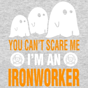 You Cant Scare Me Im Ironworker Halloween - Men's Long Sleeve T-Shirt by Next Level