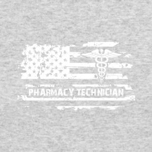 Pharmacy Technician US Flag - Men's Long Sleeve T-Shirt by Next Level