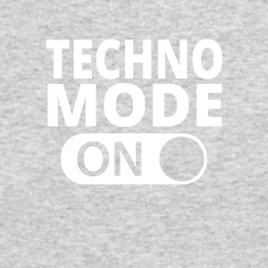 MODE ON TECHNO - Men's Long Sleeve T-Shirt by Next Level
