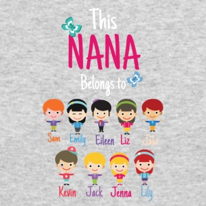 This Nana belongs to grandkids - Men's Long Sleeve T-Shirt by Next Level