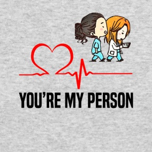 Grey s Anatomy You are my person - Men's Long Sleeve T-Shirt by Next Level