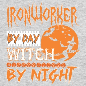 Ironworker By Day Witch By Night Halloween - Men's Long Sleeve T-Shirt by Next Level