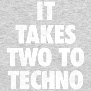 It takes two to techno - Men's Long Sleeve T-Shirt by Next Level