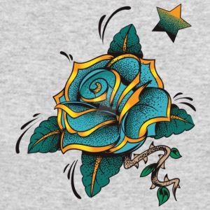 blue rose by lildachi - Men's Long Sleeve T-Shirt by Next Level