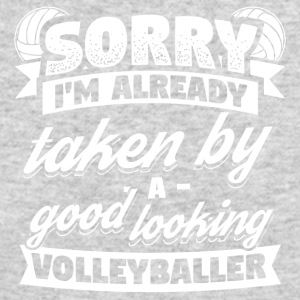 Funny Volleyball Player Shirt Already Taken - Men's Long Sleeve T-Shirt by Next Level