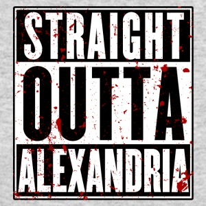 STRAIGHT OUTTA ALEXANDRIA - Men's Long Sleeve T-Shirt by Next Level