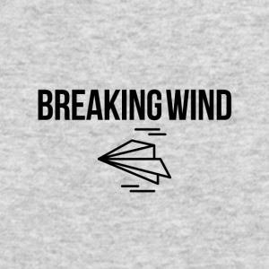 Breaking wind - Men's Long Sleeve T-Shirt by Next Level