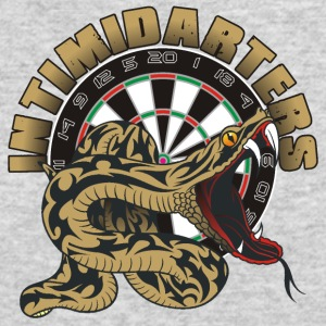 Intimidarters Darts Shirt - Men's Long Sleeve T-Shirt by Next Level