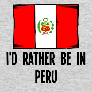 I'd Rather Be In Peru - Men's Long Sleeve T-Shirt by Next Level