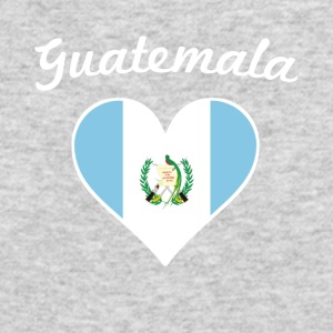 Guatemala Flag Heart - Men's Long Sleeve T-Shirt by Next Level