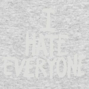 I Hate Everyone - Men's Long Sleeve T-Shirt by Next Level