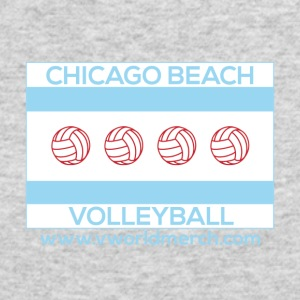 Chicago Beach Volleyball C - Men's Long Sleeve T-Shirt by Next Level