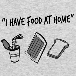 Food AT Home - Men's Long Sleeve T-Shirt by Next Level