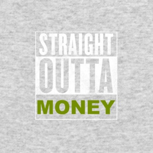 Straight Outta Money - Men's Long Sleeve T-Shirt by Next Level