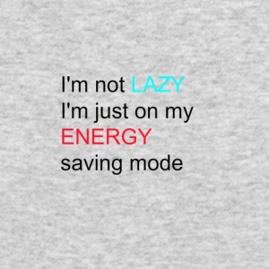 lazy girl quote - Men's Long Sleeve T-Shirt by Next Level