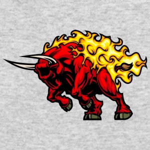 red_bull_in_fire - Men's Long Sleeve T-Shirt by Next Level