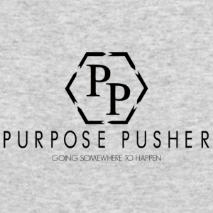 Purpose Pusher logo - Men's Long Sleeve T-Shirt by Next Level