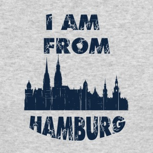 HAMBURG I am from - Men's Long Sleeve T-Shirt by Next Level