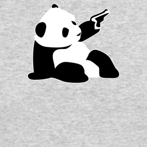 Baby Banksy Inspired Panda - Men's Long Sleeve T-Shirt by Next Level