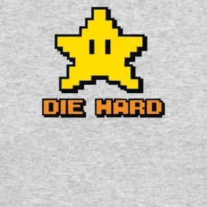 yellow die hard - Men's Long Sleeve T-Shirt by Next Level