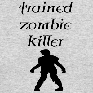 trained zombie - Men's Long Sleeve T-Shirt by Next Level