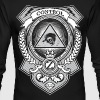 Money Shirt Design by Ctrl+Z Clothing - Men's Long Sleeve T-Shirt by Next Level