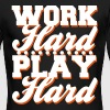 Work Hard Play Hard - Men's Long Sleeve T-Shirt by Next Level