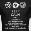 Supernatural Keep Calm and Exorcise - Men's Long Sleeve T-Shirt by Next Level