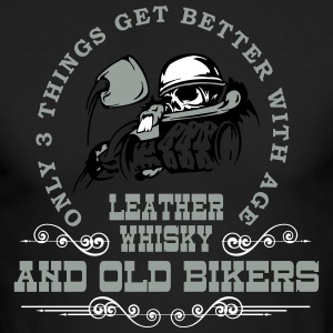 Old Bikers Get Better With Age - Men's Long Sleeve T-Shirt by Next Level