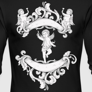 Vintage Angels with Arc - Men's Long Sleeve T-Shirt by Next Level