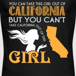 You Can Take This Girl Out Of California T Shirt - Men's Long Sleeve T-Shirt by Next Level