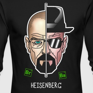 Heisenberg002 - Men's Long Sleeve T-Shirt by Next Level