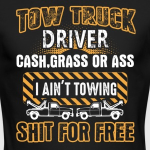 Tow Truck Driver Shirts - Men's Long Sleeve T-Shirt by Next Level