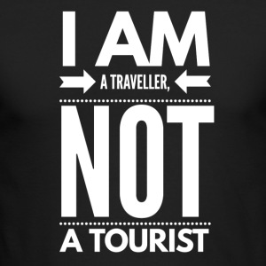 Traveller Not Tourist - Men's Long Sleeve T-Shirt by Next Level