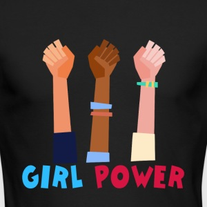Girl power - Men's Long Sleeve T-Shirt by Next Level