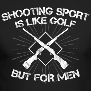 Shooting Sport/Shooting Range/Shooter/Sharpshooter - Men's Long Sleeve T-Shirt by Next Level